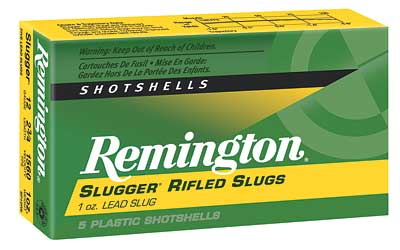 "Remington Slugger, 12 Gauge, 2.75"", 1oz, Rifled Slug, 5 Round Box 20300"