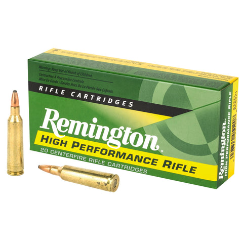 Remington, 22-250, 55 Grain, Pointed Soft Point, 20 Round Box 21311