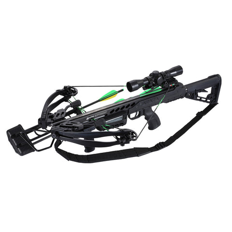 SA Sports Empire Aggressor 390 Crossbow Pkg. Black