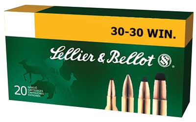 Sellier & Bellot Rifle, 30-30, 150 Grain, Soft Point, 20 Round Box SB3030A