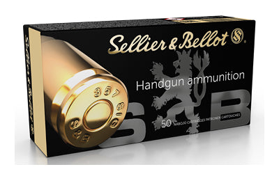Sellier & Bellot Pistol, 357 Sig, 124 Grain, Jacketed Hollow Point, 50 Round Box SB357SIGB