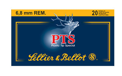 Sellier & Bellot Rifle, 6.8SPC, 110 Grain, PTS, 20 Round Box SB68B