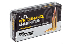 Sig Sauer Elite Performance Match, 300 AAC Blackout, 220 Grain, Open Tip Match, 20 Round Box E300A2-20