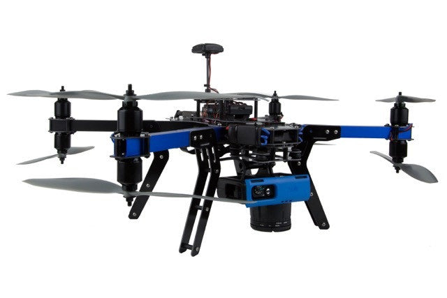 3D Robotics X8-M 433 MHz (Europe) Mapping Multicopter