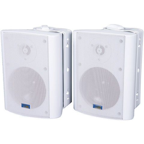 TIC CORPORATION ASP60W Indoor/Outdoor 75-Watt Speakers with 70-Volt Switching (White)