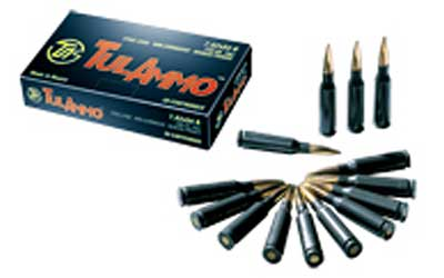 TulAmmo USA Steel Case, 762X54R, 148 Grain, Full Metal Jacket, Bi-Metal Casing, Non Corrosive, 20 Round Box TA76254