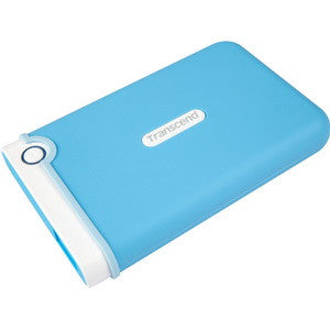 Transcend 1TB StoreJet 25M3B Light Blue Portable HDD