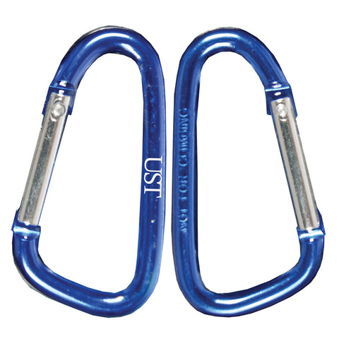 UST Carabiner, 5 cm (2 Pack), Assorted Colors
