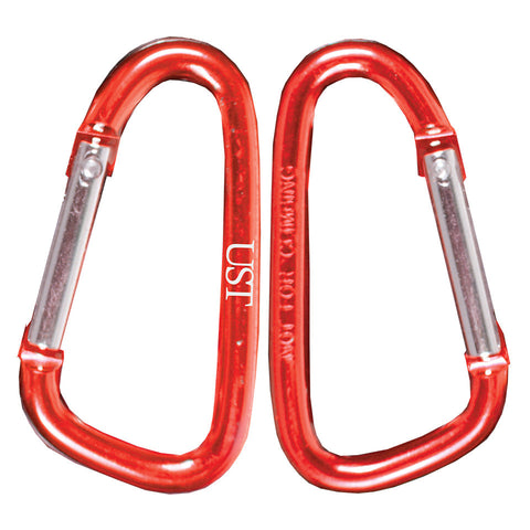 UST Carabiner 6 cm (2 Pack), Assorted Colors