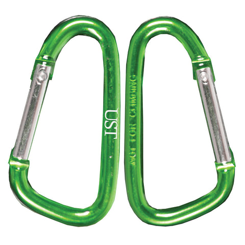 UST Carabiner 8 cm (2 Pack), Assorted Colors