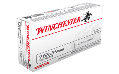 Winchester USA, 762x39, 123 Grain, Full Metal Jacket, 20 Round Box Q3174