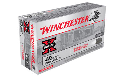 Winchester USA, 45LC, 250 Grain, Lead, 50 Round Box USA45CB