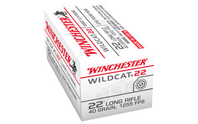 Winchester Wildcat, 22LR, 40 Grain, Lead Round Nose, 50 Round Box WW22LR