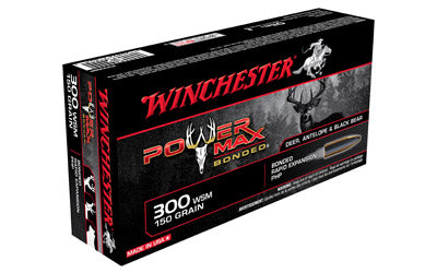 Winchester Super-X, 300 WSM, 150 Grain, Power Max Bonded, 20 Round Box X300SBP