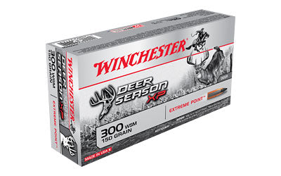 Winchester Deer Season, 300 WSM, 150 Grain, Extreme Point Polymer Tip, 20 Round Box X300SDS