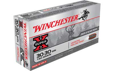 Winchester Super-X, 30-30, 150 Grain, Hollow Point, 20 Round Box X30301