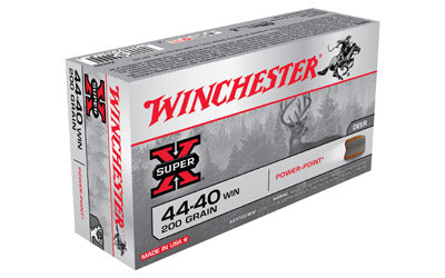 Winchester Super-X, 44-40, 200 Grain, Soft Point, 50 Round Box X4440