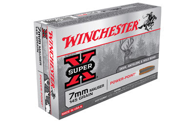 Winchester Super-X, 7x57, 145 Grain, Power Point, 20 Round Box X7MM1