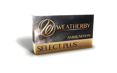 Weatherby Select Plus Ammunition, 300 Weatherby, 180 Grain, Barnes Tipped Triple Shock X, 20 Round Box B300180TTSX