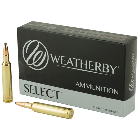 Weatherby Ammunition,257 Weatherby, 100 Grain, Spire Point, 20 Round Box H257100SP