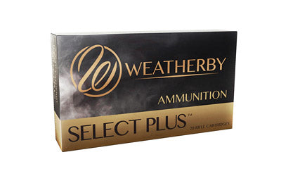 Weatherby Select Plus Ammunition, 257 Weatherby, 110 Grain, Nosler AccuBond, 20 Round Box N257110ACB