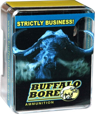 Buffalo Bore Ammo .38Super +P 124gr. JHP 20-Pack