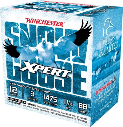 "Win Ammo Goose Steel 12Ga. 3"" 1475Fps. 1-1/4Oz. Bb 25-Pack Wxs123Bb"