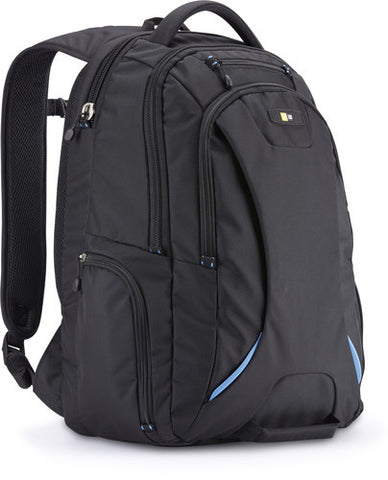 "Case Logic - 15.6"" Laptop and Tablet Backpack, Black"