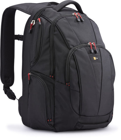 "Case Logic - 15.6"" Backpack for Laptop and Tablet, Black"