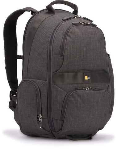Case Logic - Berkeley Deluxe 15.6-Inch Laptop and Tablet Backpack (Anthracite)