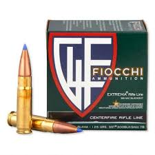 Fiocchi 300BLKHA Extrema 300 AAC Blackout/Whisper (7.62X35mm) 125 GR SST 25 Bx/ 20 Cs