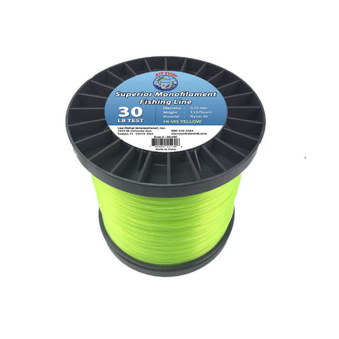 Joy Fish 5 Lb Spool Monofilament Fishing Line-30Lb Hi-Vis