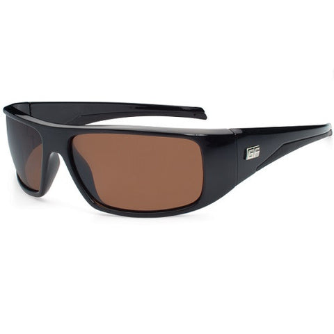 Gone Fishing Wahoo Black Frame/Brown Platinum Flash Lens