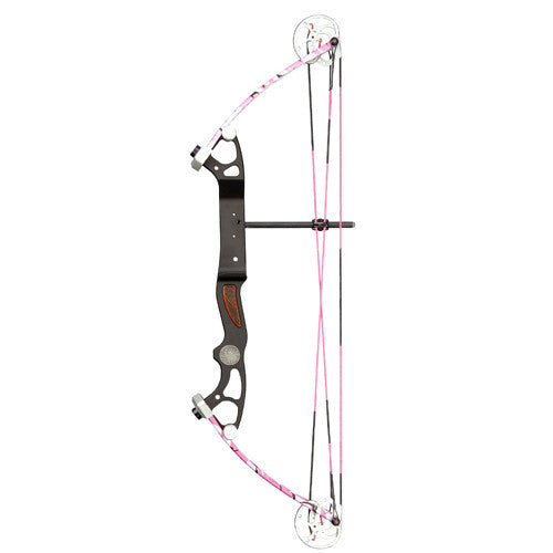 Alpine Rookie Bow 10-35lb 17-23in Pink Camo RH BO-48131