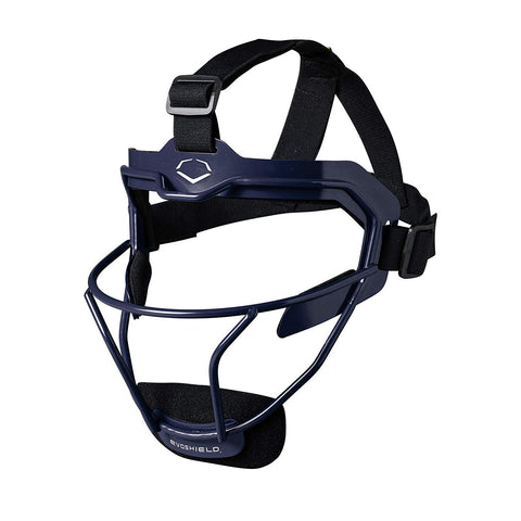 EvoShield Softball Defender's Facemask Navy