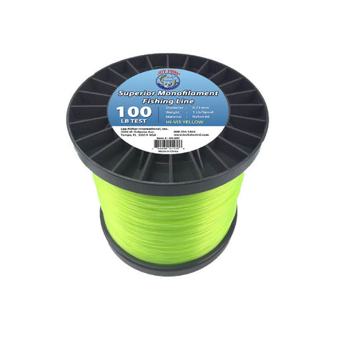Joy Fish 5 Lb Spool Monofilament Fishing Line-100Lb Hi-Vis