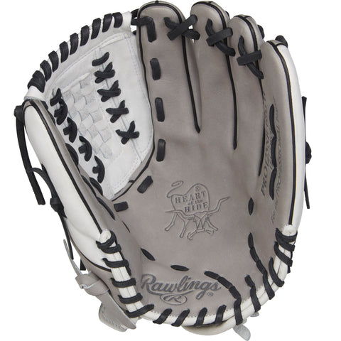 Rawlings Heart of the Hide 12.5in Softball Glove LH-Gray