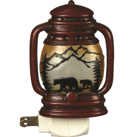 Rivers Edge Automatic Night Light Lantern