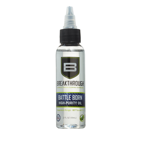 Battle Born High-Purity Oil (Lubricant & Protectant) - 2oz.