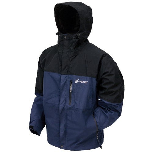 Frogg Toggs Toadz Rage Jacket Dust Blue/Blk Med NT6601-122MD