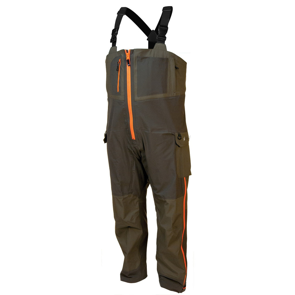 Frogg Toggs Pilot Frogg Guide Bib Stone/Taupe - Large