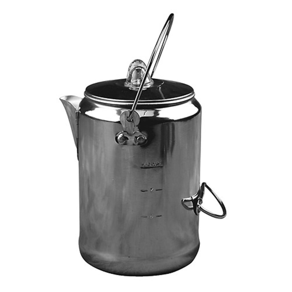 Coleman 9 Cup Aluminum Coffeepot Silver 2000016428