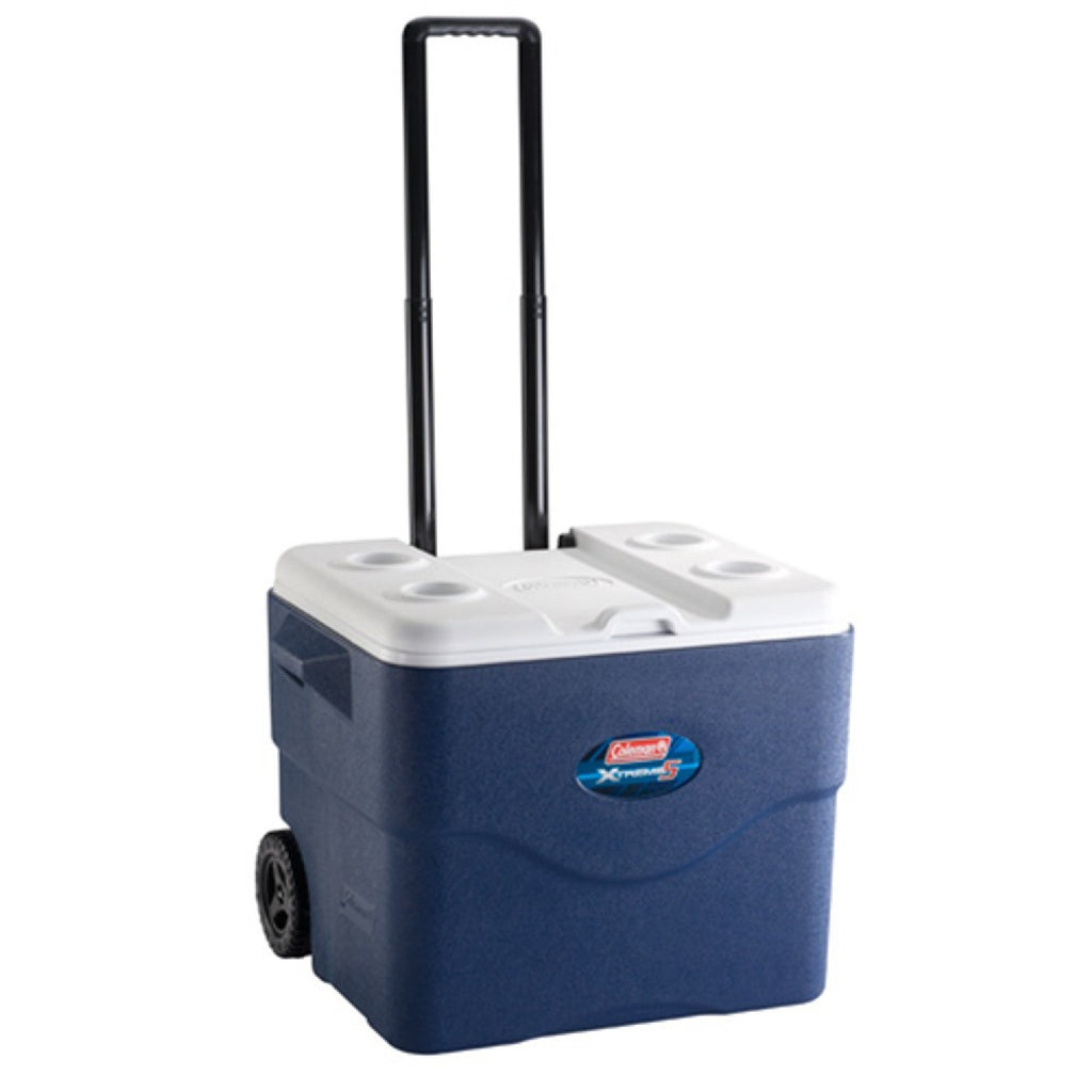 Coleman 75 Quart Xtreme Wheeled Blue Cooler 3000001733