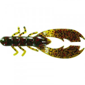 "Mister Twister 3.5"" Poc'it Craw Flippin Blue Red"