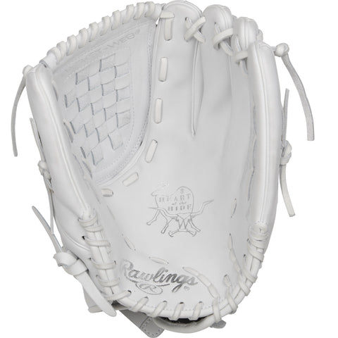 Rawlings Heart of the Hide 12.5in Softball Glove RH-White
