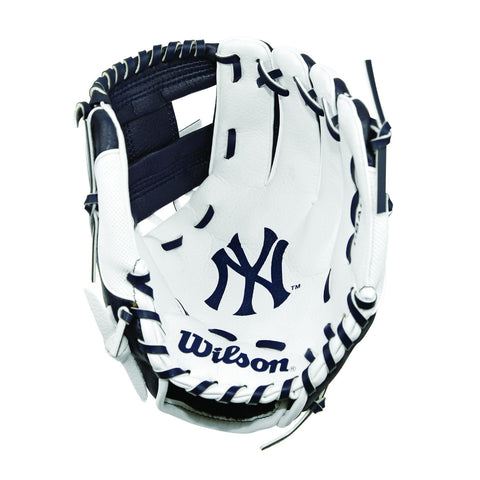 "Wilson A0200 10"" New York Yankees Baseball Glove"