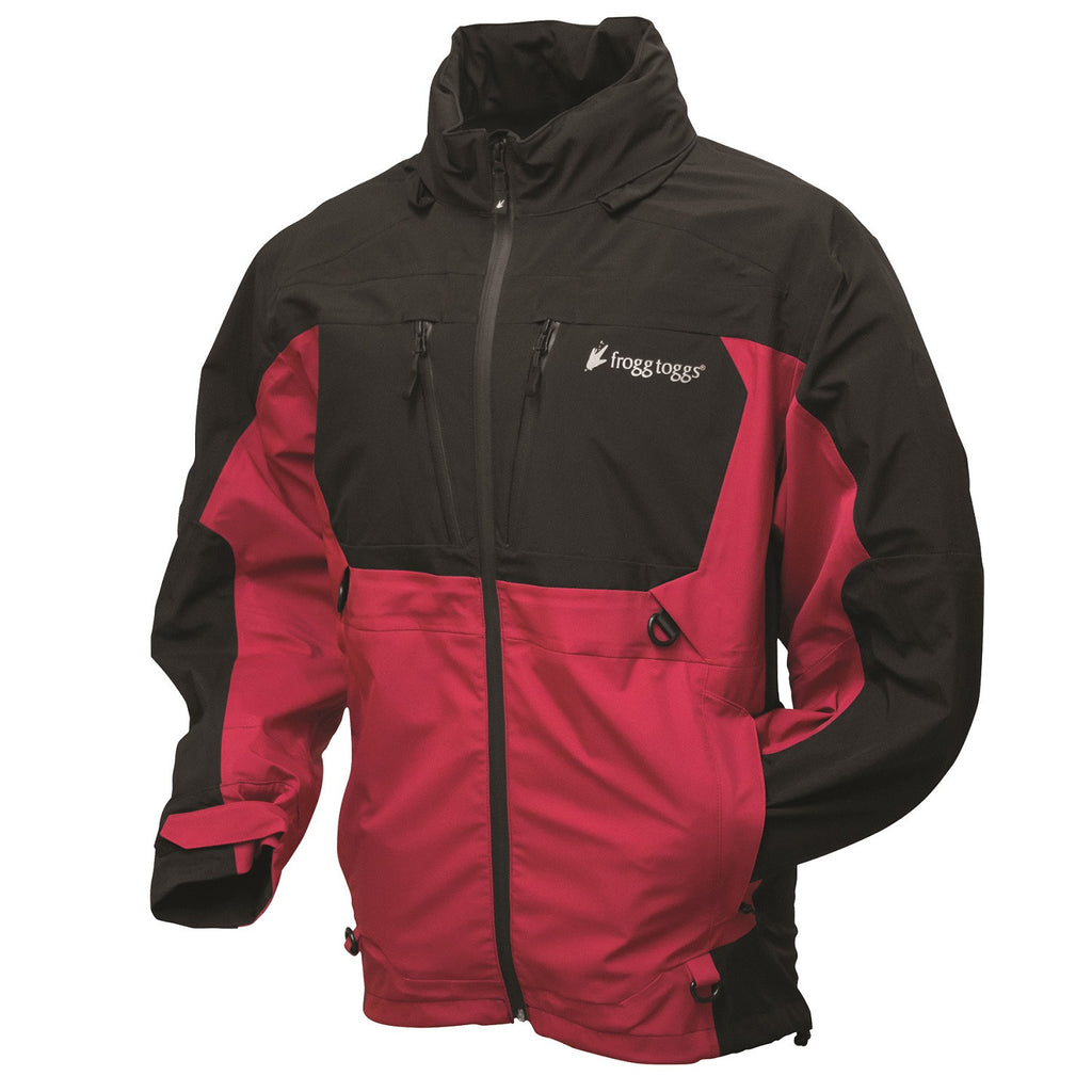 Frogg Toggs Pilot Frogg Guide Jacket Red/Black - Small