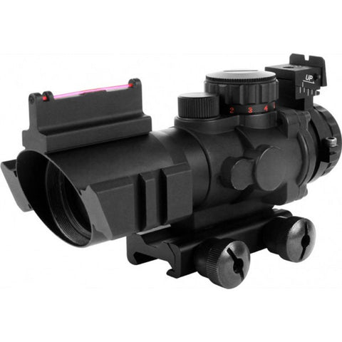 4x32mm Tri-illumination Scope Fiber Optic Sight 3/4 Circle