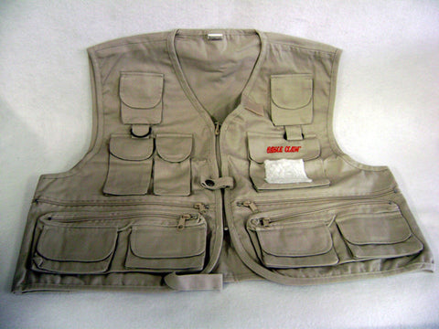 Eagle Claw Fishing Vest Adult Xxlg