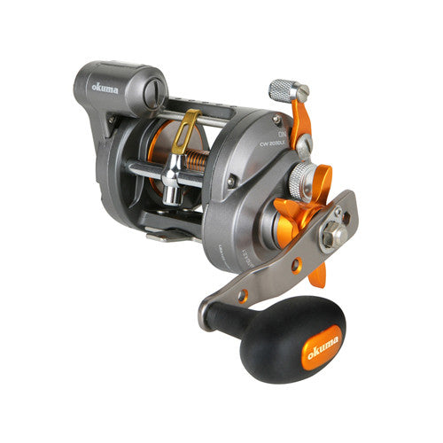 Okuma Cold Water Linecounter Reel 2+1BB 4.2:1 20lb/420yd LH